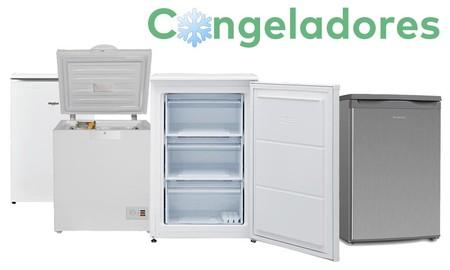 Gana espacio para almacenar comida: 19 congeladores por menos de 300 euros en Mi Electro, Amazon y El Corte Inglés