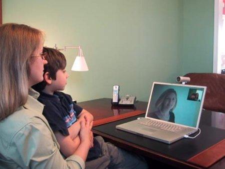 Telemedicina o el doctor en videoconferencia