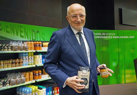 Juan Roig Presidente De Mercadona En Rueda De Prensa 2017