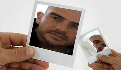 Espejo polaroid