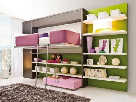 Muebles Cama Clei Lollibook 2