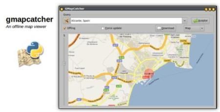Gmapcatcher, guarda tus mapas para consultarlos offline