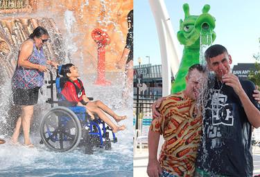 Crean en Estados Unidos el primer parque acuático pensado en las personas con necesidades especiales