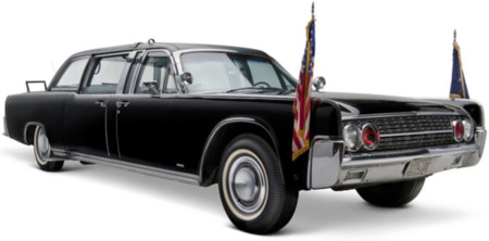 Coche Kennedy Lincoln Continental Convertible 1961