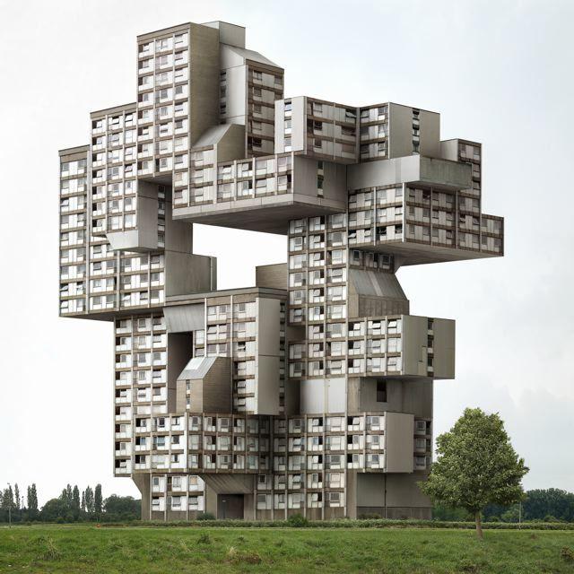 Foto de Fictions, edificios imposibles por Filip Dujardin (1/7)