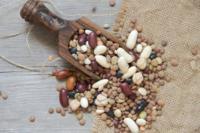 El contenido de fibra de diferentes legumbres