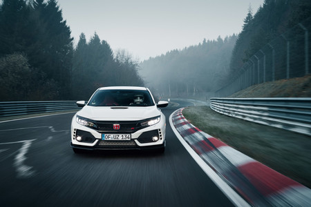 Honda Civic Type R 2017 récord Nürburgring