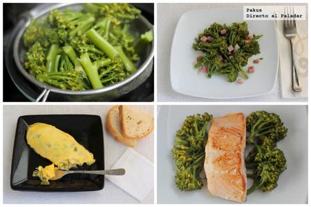 Tres recetas para cocinar con bimi el nuevo br coli for Cocinar para 8