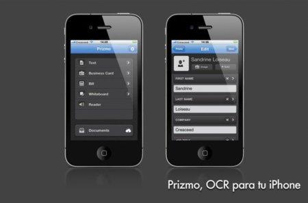 Prizmo, escaner y reconocimiento de texto en tu iPhone