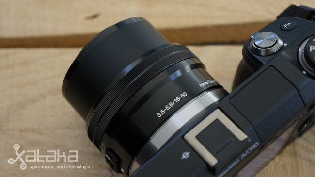 Sony NEX 6 zoom extendido