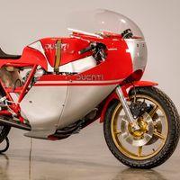 Esta exquisita Ducati NCR 900 'réplica' de Hailwood puede ser tuya, pero sólo si estás muy forrado