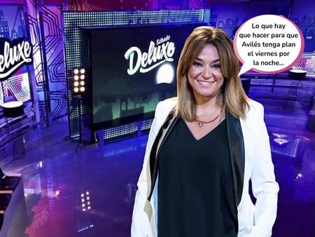 Telecino retira las reposiciones del 'Deluxe' y estrena este viernes una versión nocturna de 'Viva la vida' con Toñi Moreno