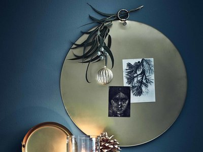La semana decorativa: inspiración orgánica también en Navidad