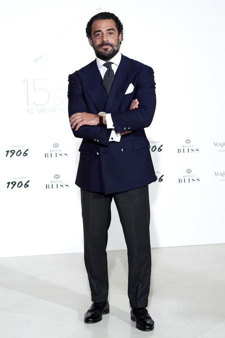 Vicente Dalmau Gentleman Spain 15th Anniversary Party