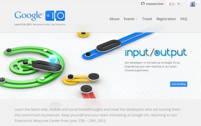 Inscripción Google IO 2012