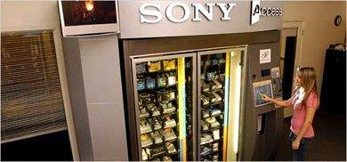 Kioskos Sony a imagen y semejanza del de Apple