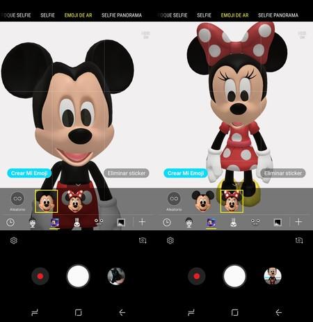 Samsung se alía con Disney: nuevos AR Emojis disponibles para los Galaxy S9 y S9+ basados en los famosos personajes