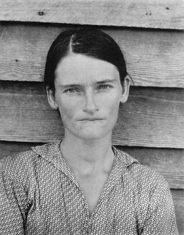 Allie Mae Burroughs, Walker Evans