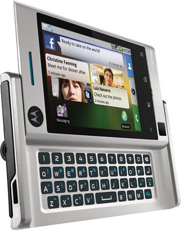 Motorola Devour, nuevo teléfono Android con interfaz Motoblur