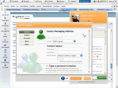 Instala Messenger Live (ó MSN Messenger 8.0 Beta)