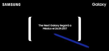 El Samsung Galaxy Note 8 llegará a México el 26 de septiembre
