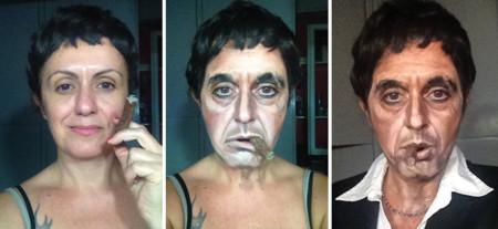 Maquillaje nivel DIOS o cómo transformarse en famosos personajes sin efectos especiales