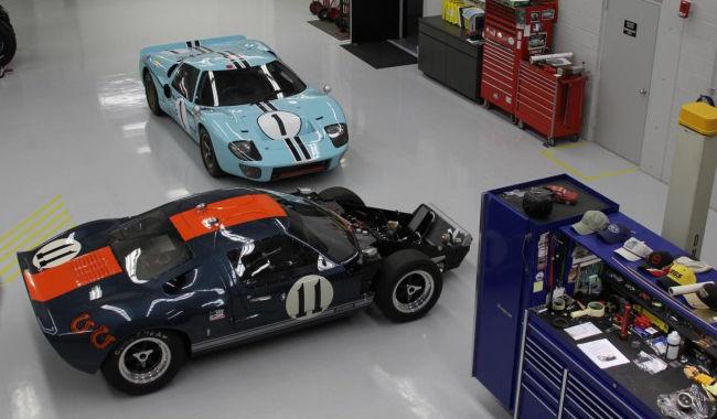 Ford GT40 MK I y Ford GT40 MK II de 1966