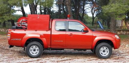 Mazda donará 35 pick-up a los bomberos de Grecia