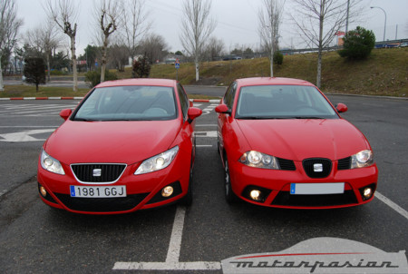 seat ibiza 2008 contra seat ibiza 2006. Black Bedroom Furniture Sets. Home Design Ideas