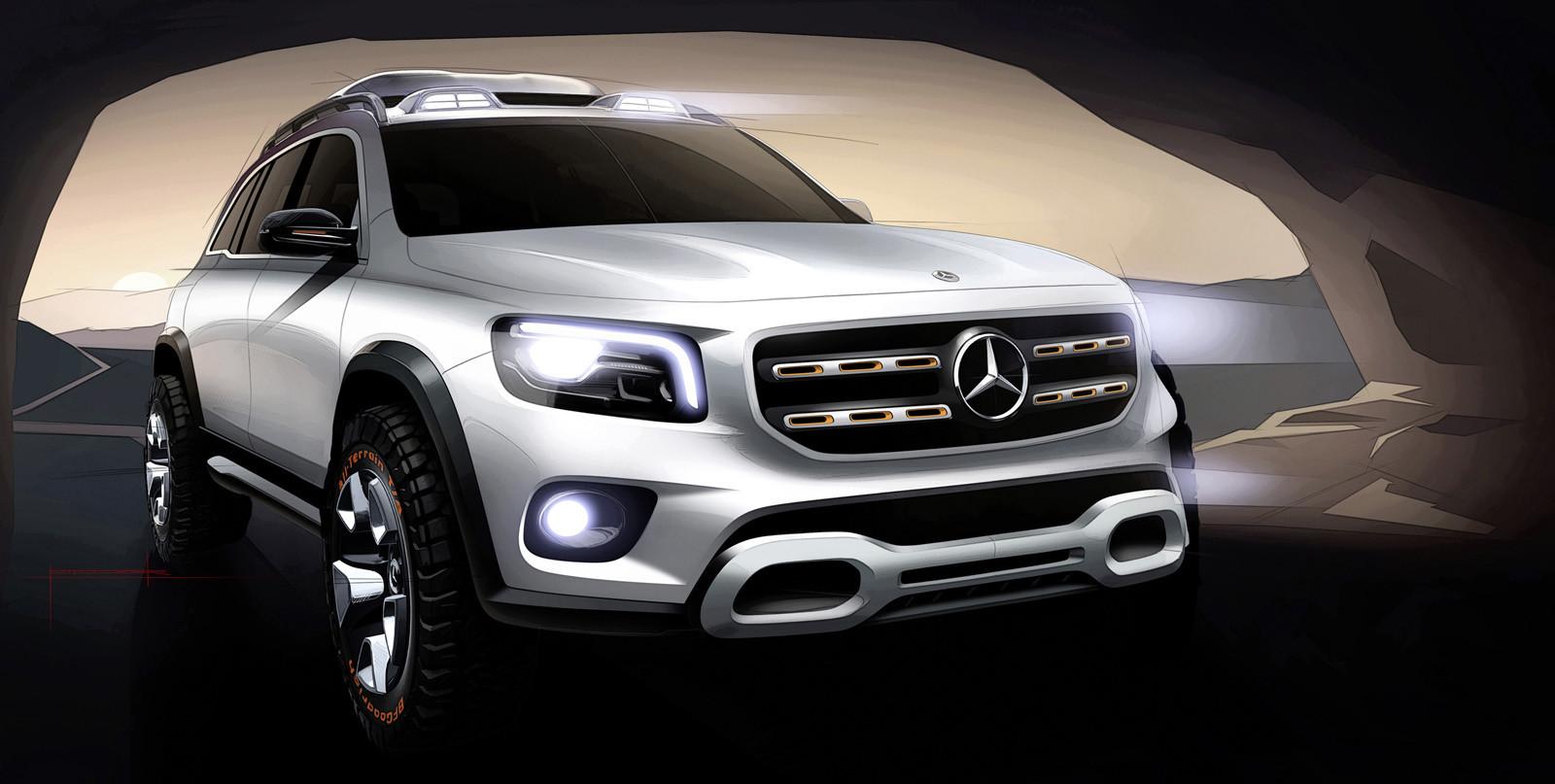 Foto de Mercedes-Benz GLB Concept (8/26)