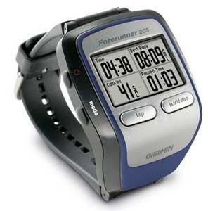 GPS para corredores Forerunner 205