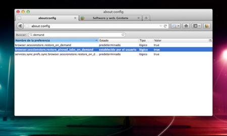 Mejora el rendimiento de Firefox cargando pestañas sólo cuando las necesites