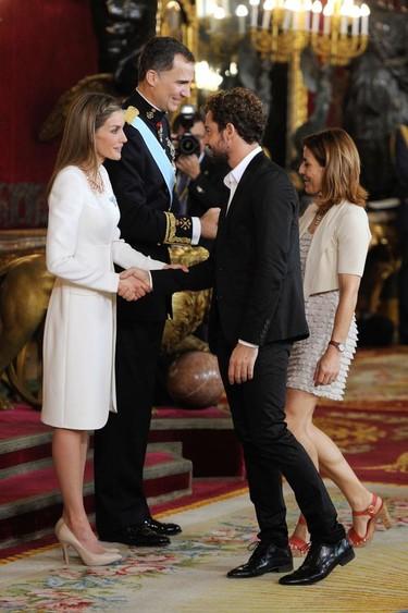 Famosos y realeza se dan cita en el Palacio Real por la proclamación de Felipe VI