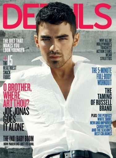 Joe Jonas para la revista Details, otro que también vuelve a sorprender