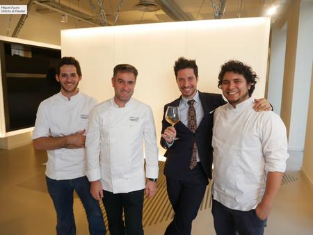 Temporalidad, producto y (mucha) literatura: así sabe la cocina bilbaína de Nerua en un 'txoko' improvisado en Madrid