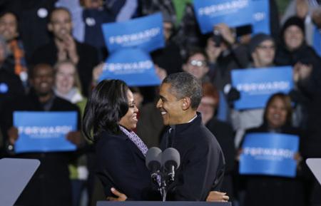Michelle Obama, la campaña de imagen de la primera dama reelegida