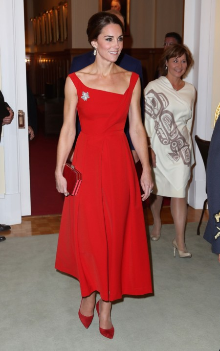 Kate Middleton Rojo 2