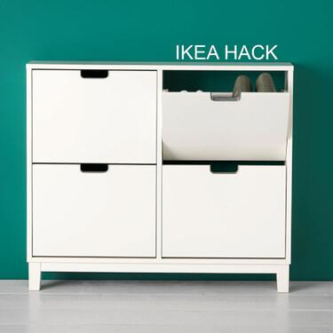 Ikea Hack; o como transformar tu zapatero de Ikea en un mueble de última tendencia con palillería