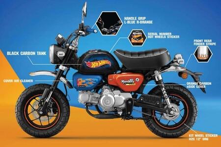 Honda Monkey 125 Hot Wheels 2021 1