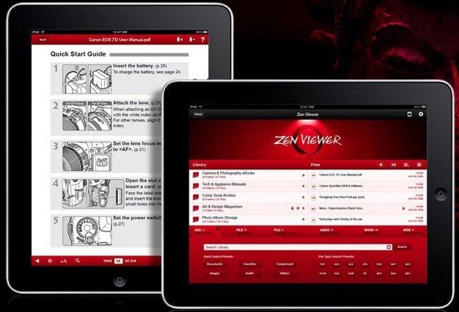 Zen Viewer HD, otras opciones de visualización