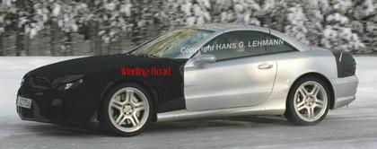 Fotos espía del próximo Mercedes SL AMG