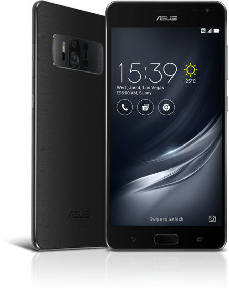 Zenfone Ar Zs571 Front And Back