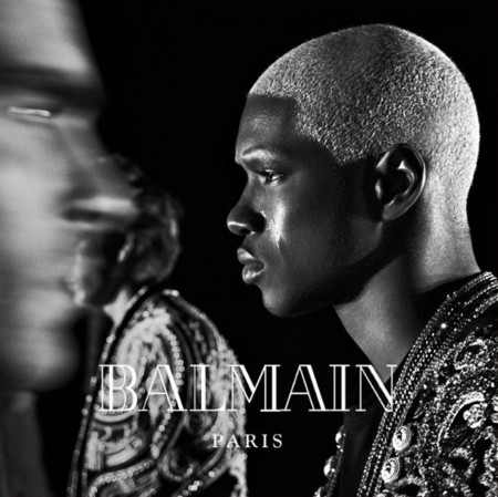 Ronald Epps Balmain 2016 Fall Winter Campaign