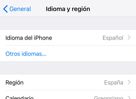 Iphone Idioma Region