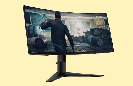Si buscas un monitor gaming curvo de grandes dimensiones, esto te interesa: este Lenovo cuesta 200 euros menos en Amazon
