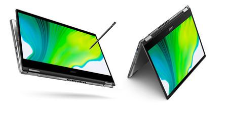 Acer Spin 3 y Spin 5: la promesa de muy buenas autonomías en estos finos convertibles y en su Acer Active Stylus