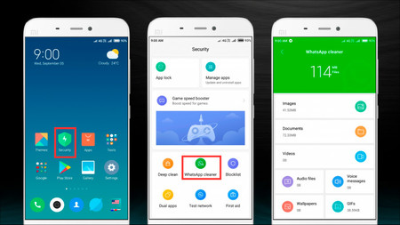 WhatsApp Cleaner MIUI 10