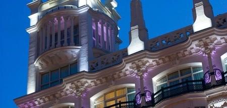 Hotel Meliá Me Madrid detalle del exterior en Decoesfera