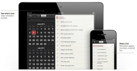 Reminders iOS 5