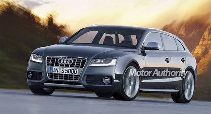 Renders del Audi A5 y S5 familiar